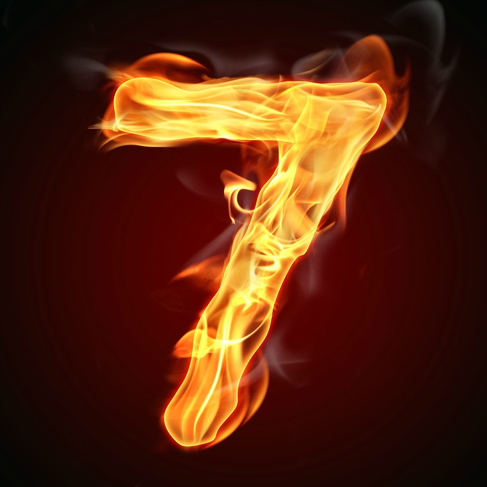 Image result for seven in fire