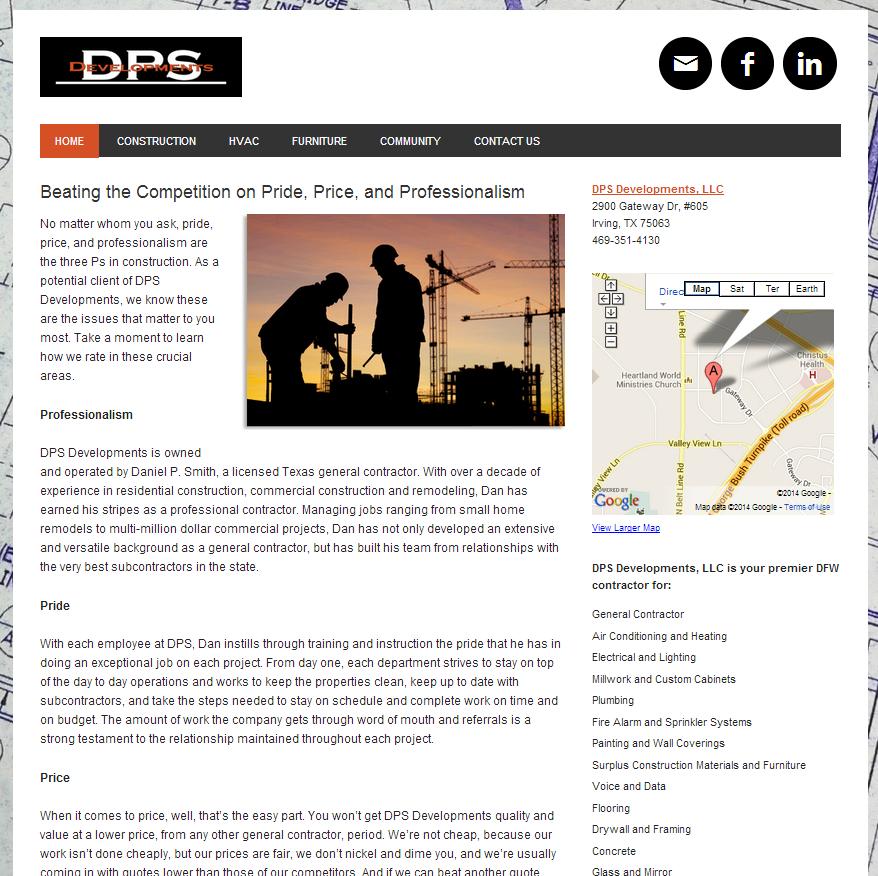 DPS Developments