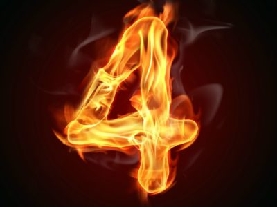 """Fire number """"4"""""""