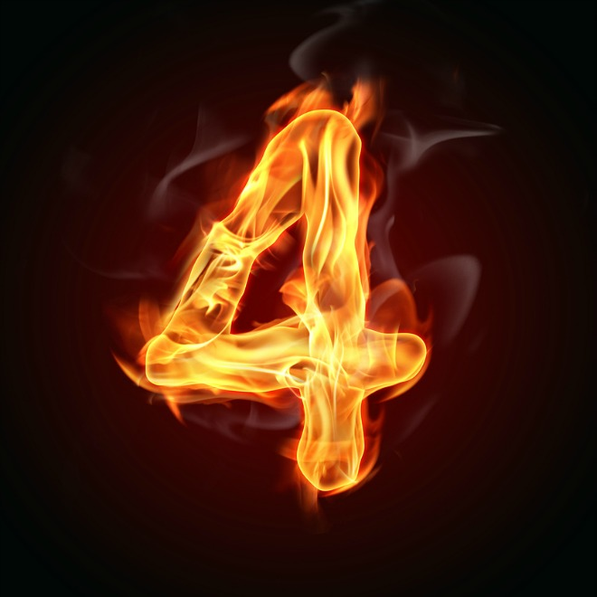 "Fire number ""4"""