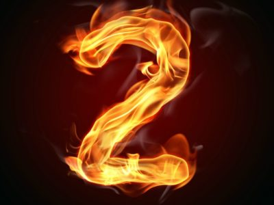"""Fire number """"2"""""""