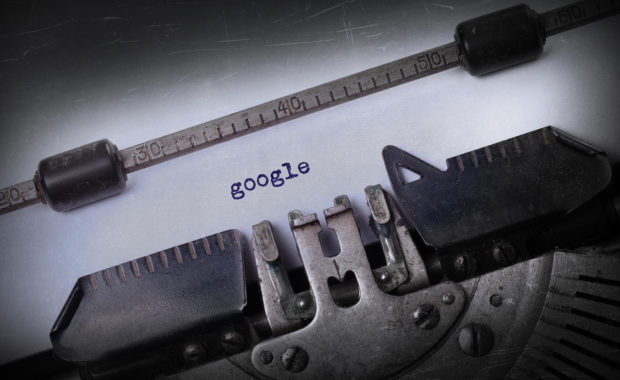 Vintage Google Search